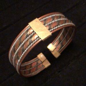 Other - Men's Handmade Mixed Metal Bracelet